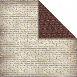 Papír na scrapbook 30,5 x 30,5 cm - Merry christmas 3