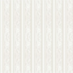 Papír na scrapbook 30,5 x 30,5 cm - Pásy krajkové