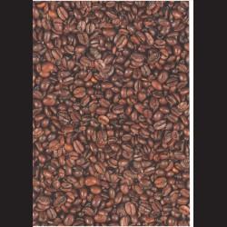 Fotokarton A4 Kávová zrnka