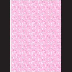 Fotokarton  A4 šneci růžoví, tvrdý karton 300g vhodný na výrobu přání, tvoření s dětmi, scrapbook a další tvoření