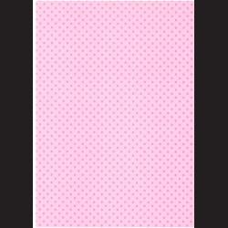 Fotokarton A4 Srdíčka růžová