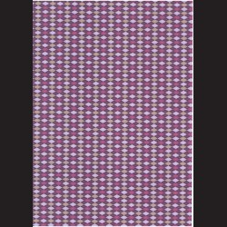 Fotokarton  A4 kosočtvercový vzor fialový, tvrdý karton 300g vhodný na výrobu přání, tvoření s dětmi, scrapbook a další tvoření