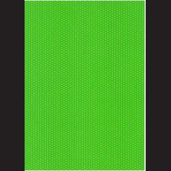 Fotokarton A4 Puntíkovaný zelený