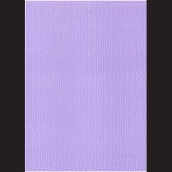 Fotokarton  A4 puntíkovaný světle fialový, tvrdý karton 300g vhodný na výrobu přání, tvoření s dětmi, scrapbook a další tvoření