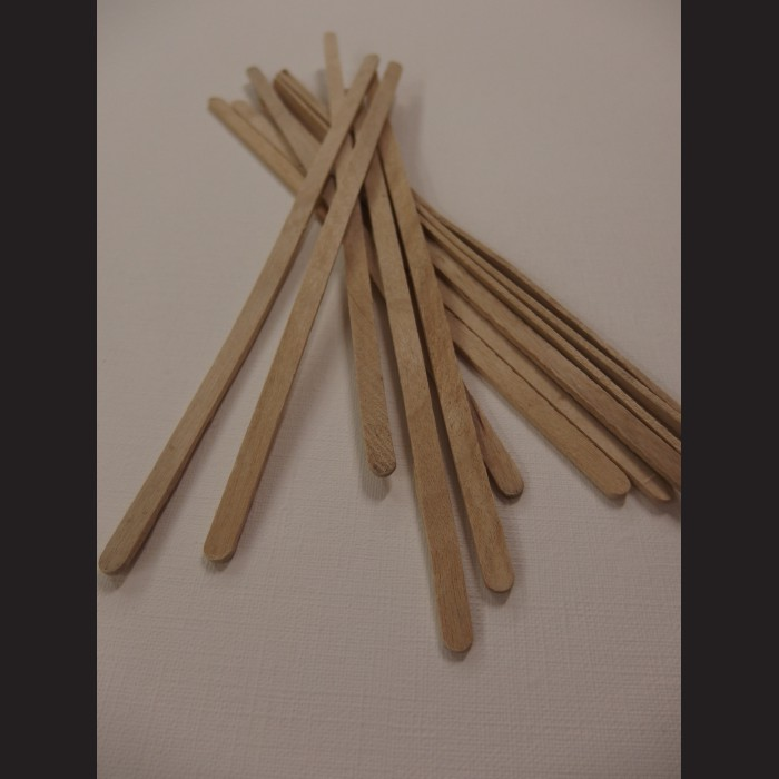 Dřevěná míchátka - 14 cm, 1000 ks