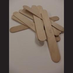 Dřevěné špachtle - 2,5 x 20 cm, 50ks