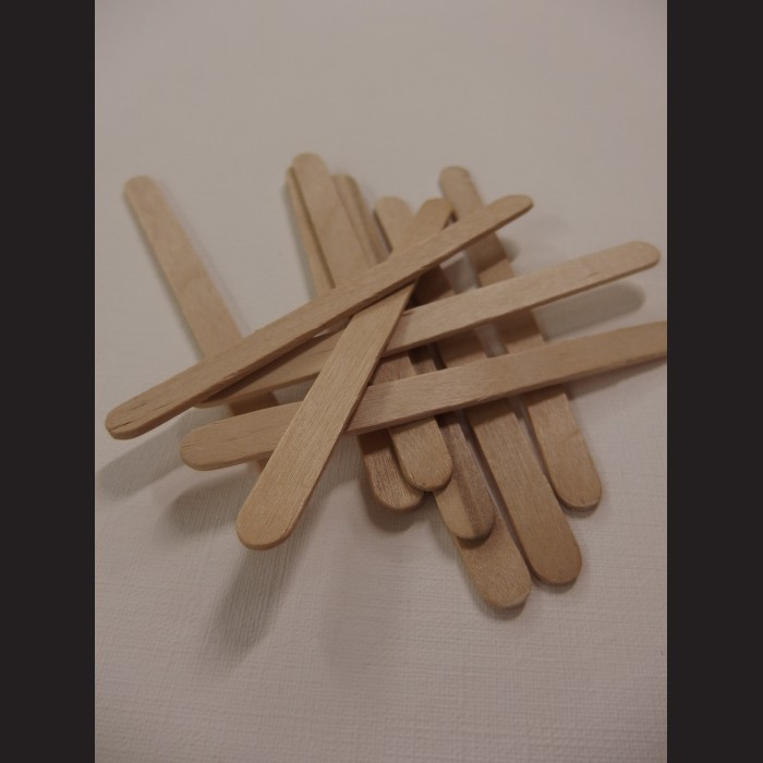 Dřevěné špachtle 0,7x11,5 cm