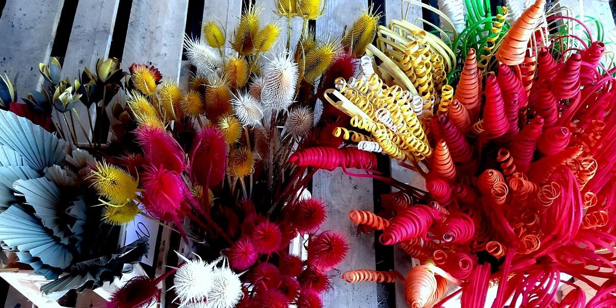 Květiny, dekorace, dušičky