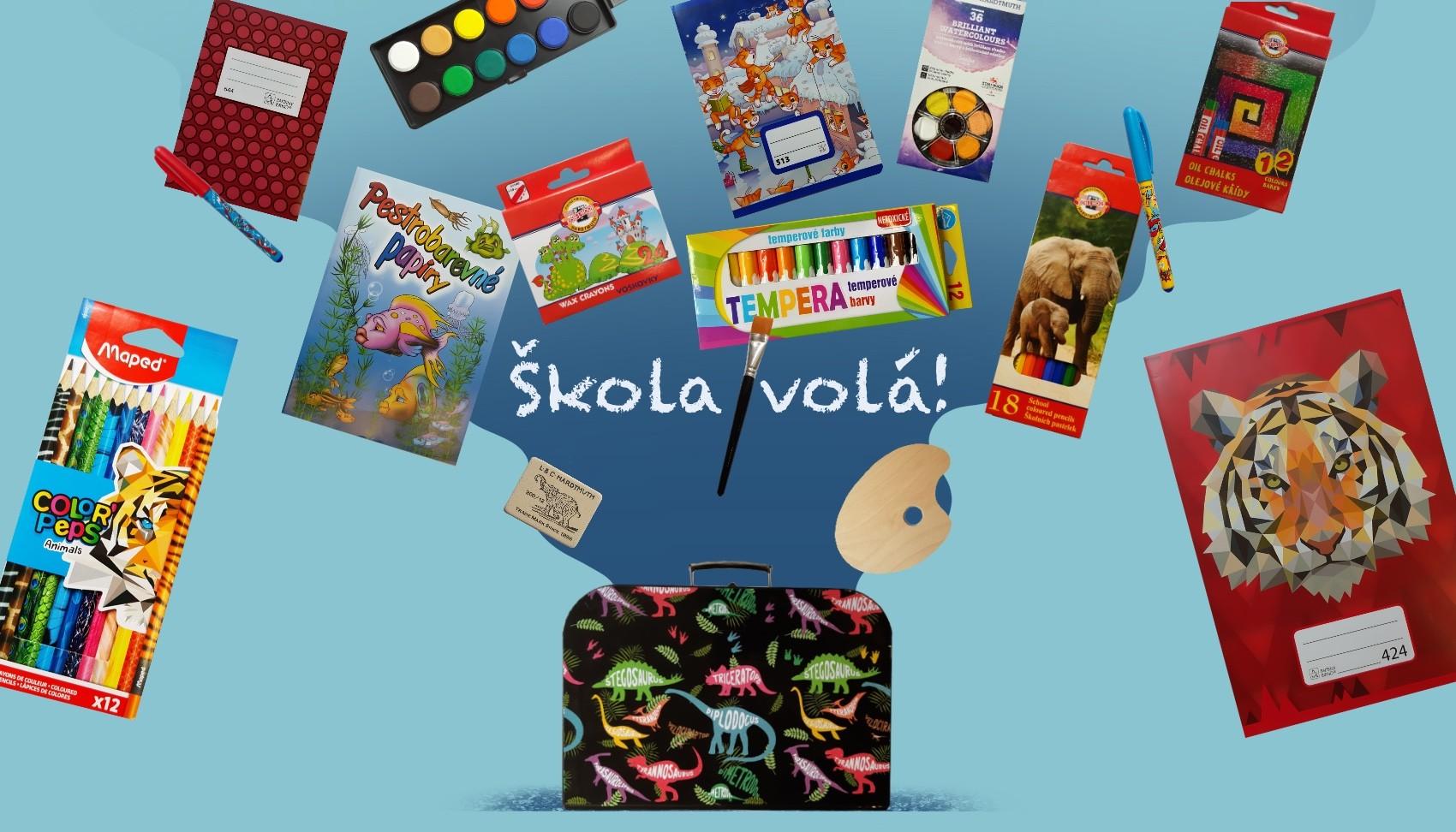 Školní potřeby - výtvarné potřeby Brno